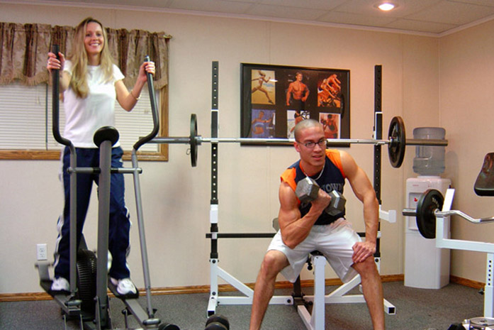 Home gym ideas designing a in your finished basement