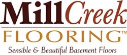 Faux wood basement floors