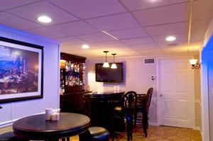Basement bar ideas how to create a great basement bar for How much does it cost to build a wet bar