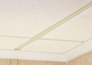 Basement Ceiling - Drop Ceiling Tiles
