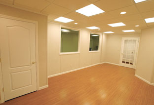 Vinyl flooring can look like wood planks, parquet, ceramic tile, or stone but requires far less care and maintenance.