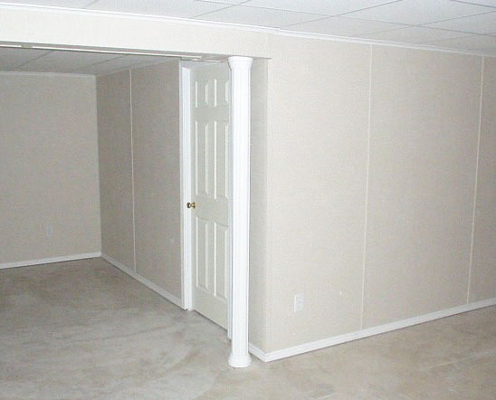 Basement wall finishing system by total basement finishing Mobile home interior walls