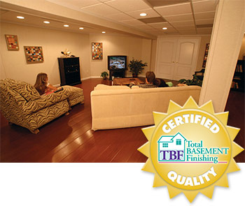 Total Basement Finishing works for all kinds of great basement finishing ideas!