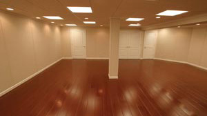Awesome Basement Wood Flooring Basement Floor Basement Wood Flooring. Finished  Basement Floor. Modern Home Design
