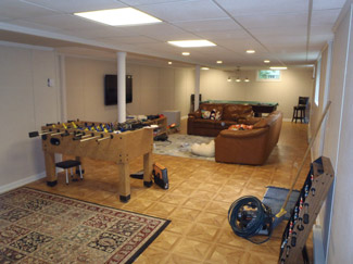 Basement Room Ideas basement game room: ideas on how to convert your basement into a