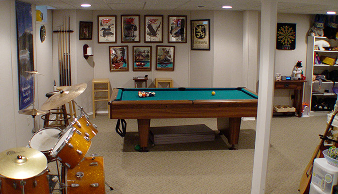 basement game room: ideas on how to convert your basement into a