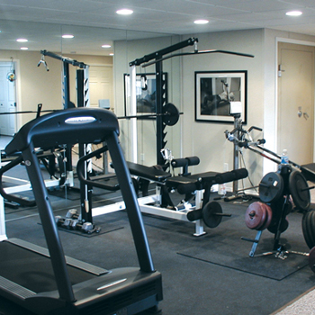 A home gym in your new basement