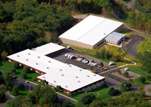 Sky view of the Total Basement Finishing Headquarters