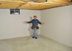 Basement insulation total basement finishing can for Appraisal value of unfinished basement
