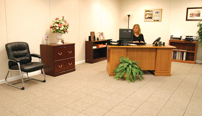 get an office at home by refinishing your basement basement office ideas