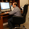 Work at home in the comfort of your own basement office