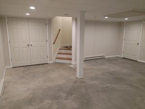 ThermalDry Elite plank flooring - before